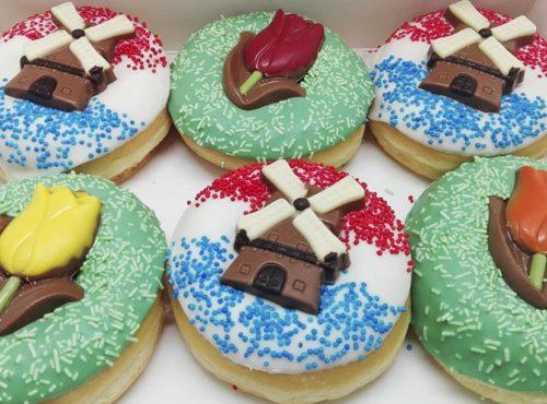 Typical Dutch Donut box - JJ Donuts