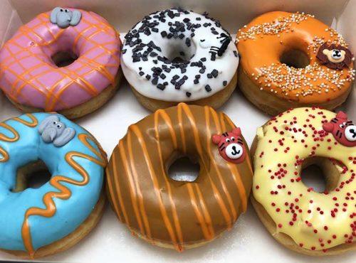 Zoo Donut box 6 stuks 2020 - JJ Donuts