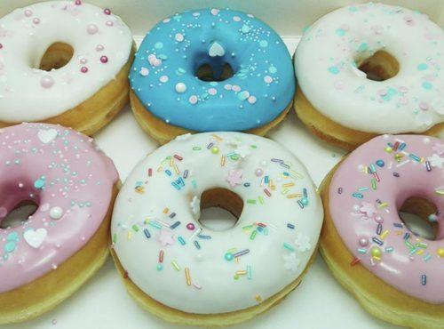 Charming Donut box - JJ Donuts