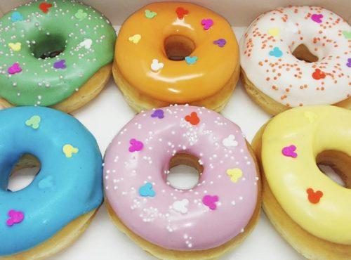 Mickey Donut box - JJ Donuts