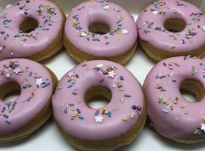 Pippa's Party Donut box - JJ Donuts