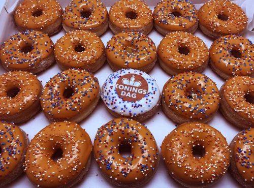 Koningsdag Mini Donut box - JJ Donuts