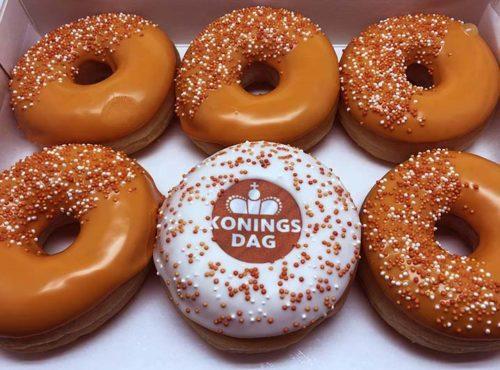 Koningsdag Parel Donut box nieuw - JJ Donuts