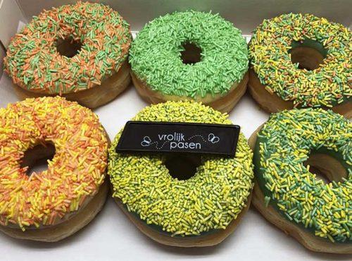 Paashagel Donut box met vorlijk pasen - JJ Donuts
