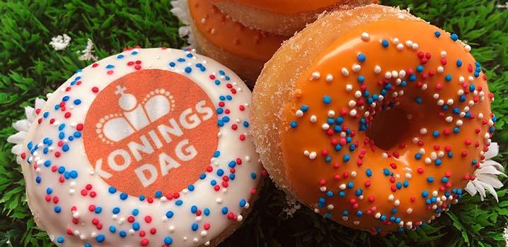 Pasen Donuts - Oranje donut voor koningsdag - JJ Donuts