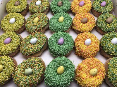 Pasen Vogelnestjes Mini Donut box - JJ Donuts