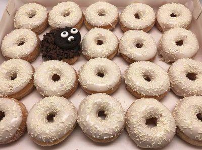 Zwarte Schaap Mini Donut box - JJ Donuts