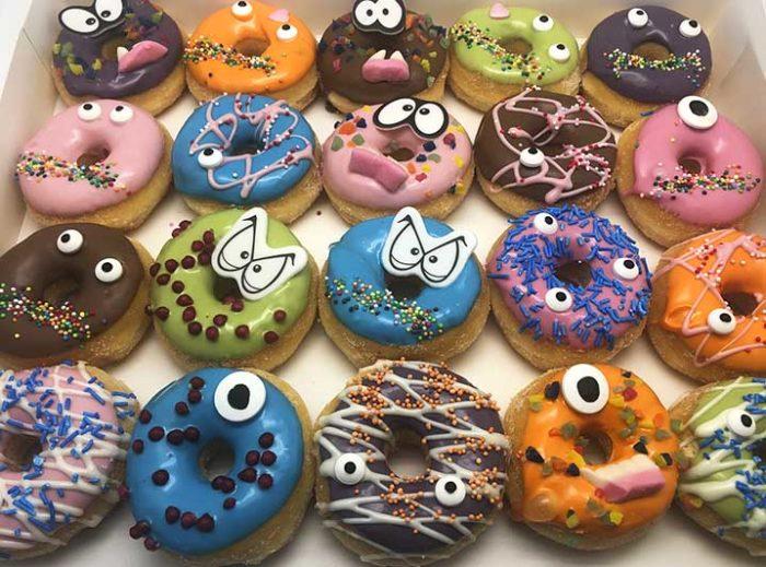 Gekke Bekken Mini Donut box 2020 - JJ Donuts