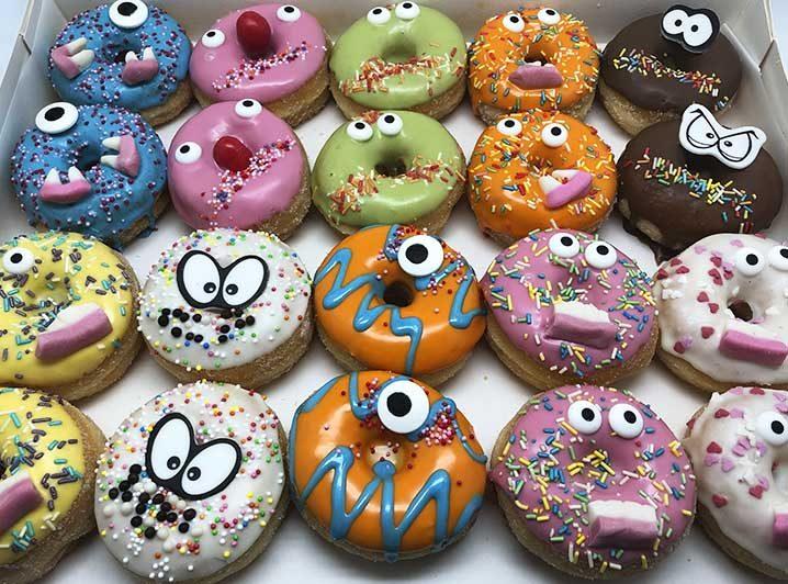 Gekke Bekken Mini Donut box - JJ Donuts