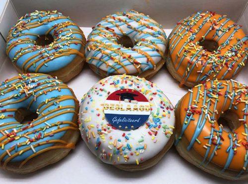 Geslaagd Donut box - JJ Donuts