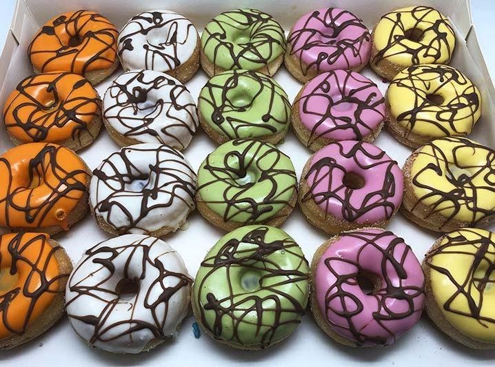 Go Crazy Mini Donut box - JJ Donuts