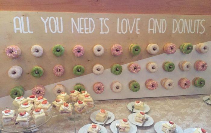 JJ Donuts - Donut Wall