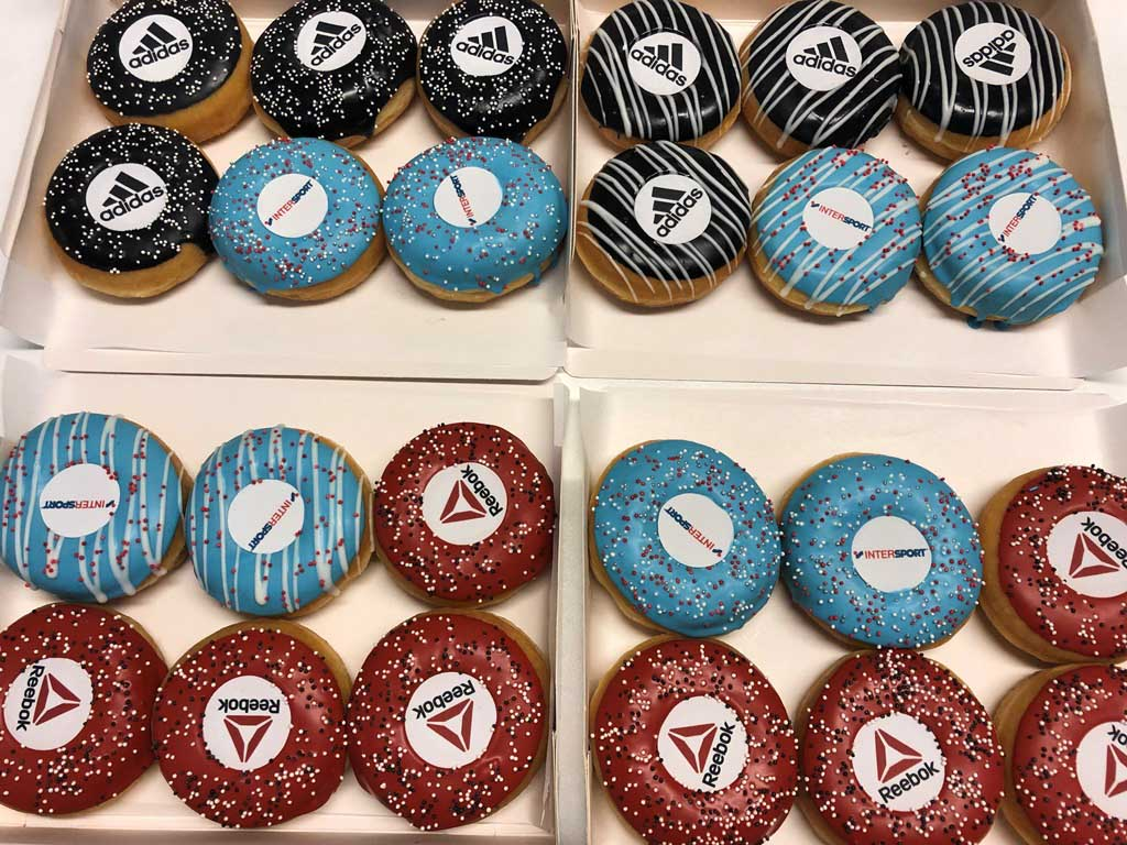 JJ Donuts - inspiratie logo donuts