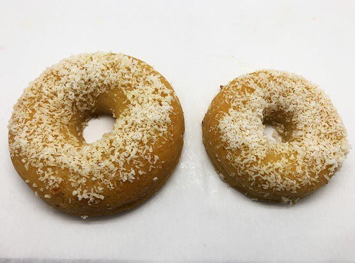 Lemon Coconut Donut 2 - JJ Donuts
