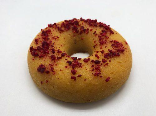 Lemon Framboos Crumble Donut 2019 - JJ Donuts