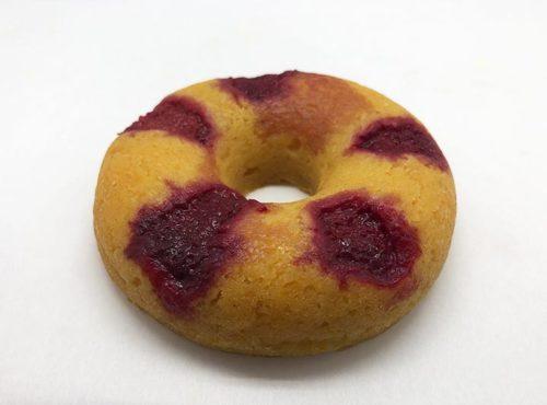 Raspberry Lemon Donut - JJ Donuts