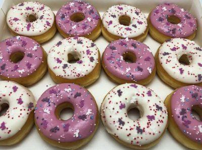 Unicorn Donut box - JJ Donuts