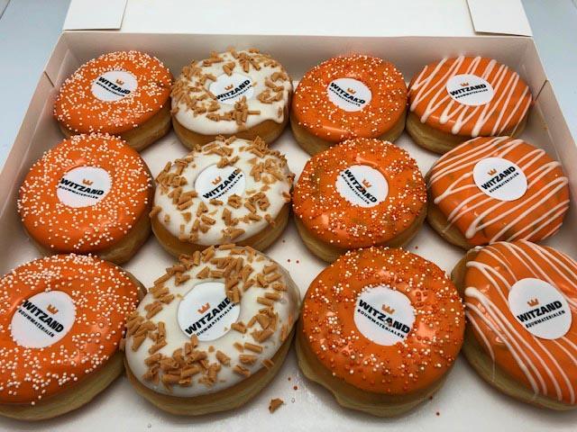 JJ Donuts - Voorbeelden van zakelijke donuts - witzand