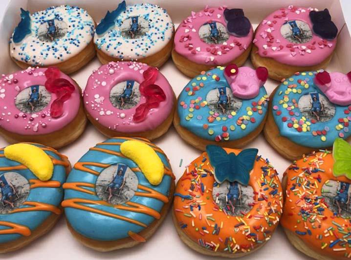 Kinds Candy Donut box - JJ Donuts
