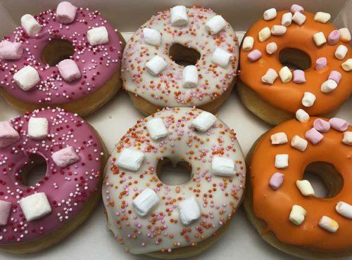 Marshmallow Donut box - JJ Donuts