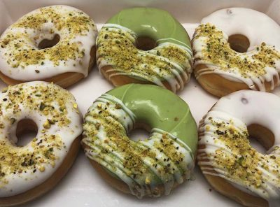 Pistache Lover Donut box - JJ Donuts