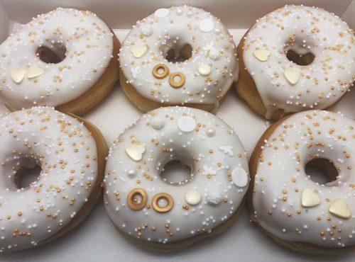 Trouwen Donut box - JJ Donuts