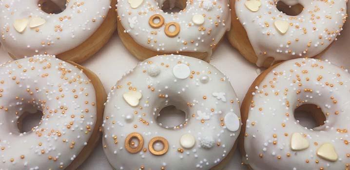 Bruidsdonuts - donut voor bruiloft - trouwdonuts - JJ Donuts