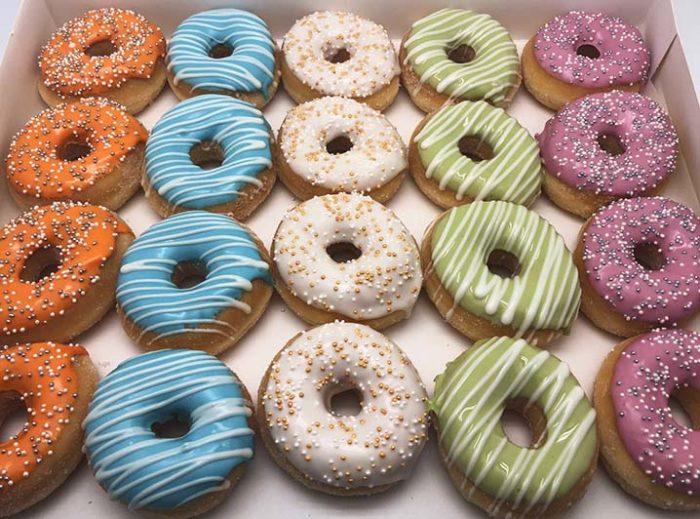 Event Mini Donut box - JJ Donuts
