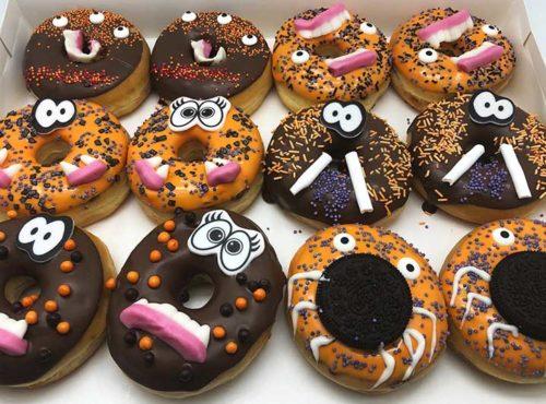 Halloween Donut box - JJ Donuts