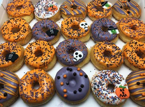 Halloween Mini Donut box - JJ Donuts