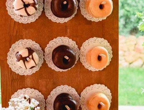 Bruidsdonuts, de ideale lekkernij voor elke bruiloft