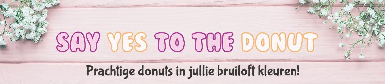 JJ Donuts - bruiloft donuts header