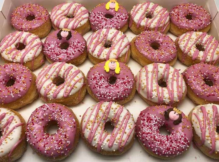 Prinsessen Mini Donut box - JJ Donuts