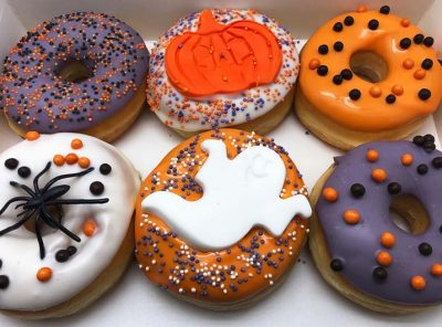Scary Halloween Donut box - JJ Donuts