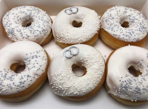 Trouwringen Donut box - JJ Donuts
