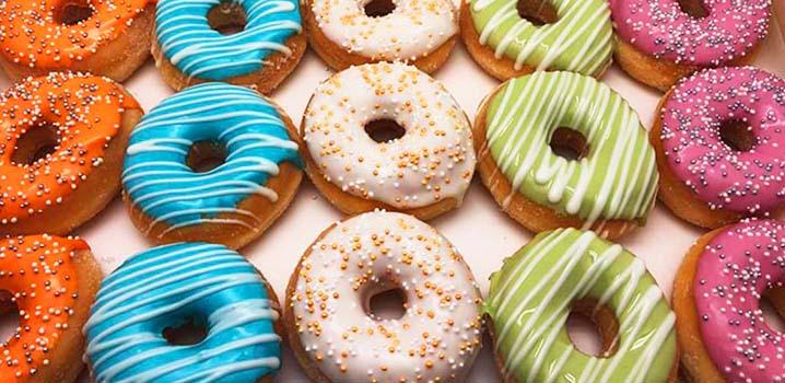 Vergader donuts - donut voor meeting en event in 2019 - event donut - JJ Donuts