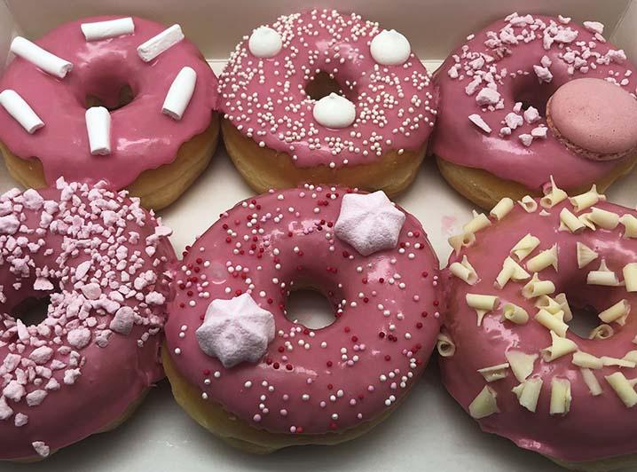 Fondant Drip Donut box - JJ Donuts