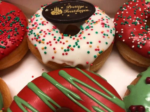 JJ Donuts - kerstdonuts - de lekkerste donut voor de kerst