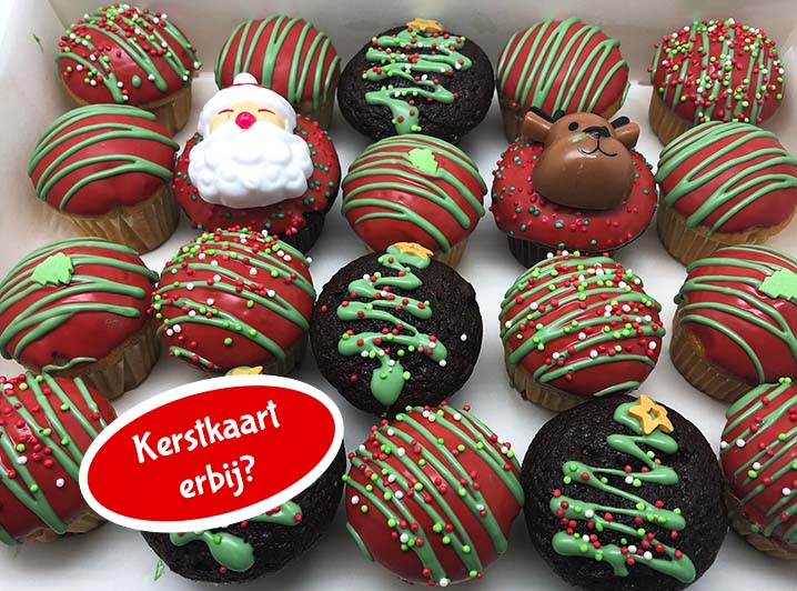 Kerst Cake Pops met kerstkaart nieuw - JJ Donuts