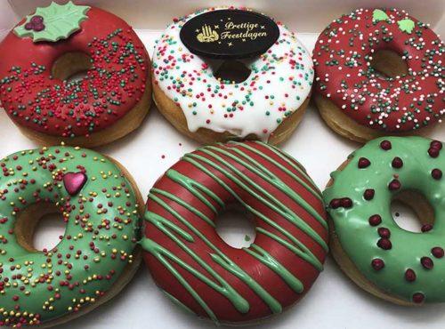 Kerst Donut box - JJ Donuts