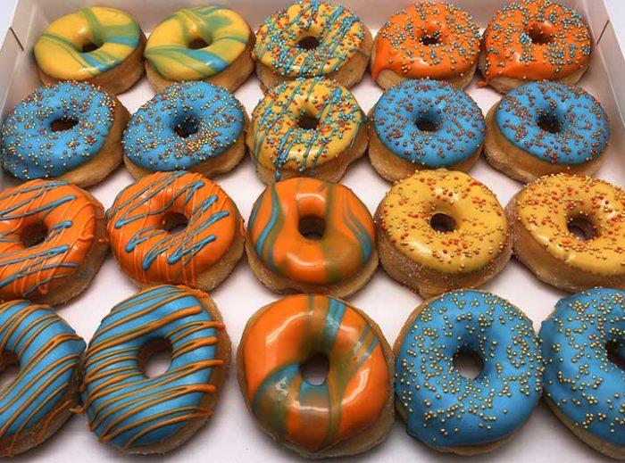 Sun and Sky Mini Donut box - JJ Donuts