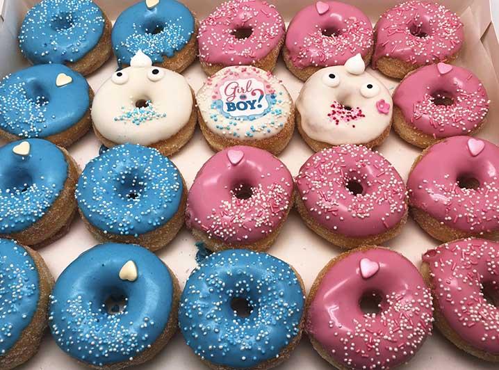 Boy or Girl Mini Donut box - JJ Donuts