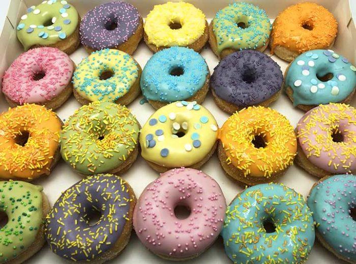 Pastel Mix Mini Donut box - JJ Donuts