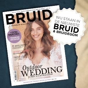 JJ Donuts - wij staan in het nieuwe bruid en bruidegom magazine web