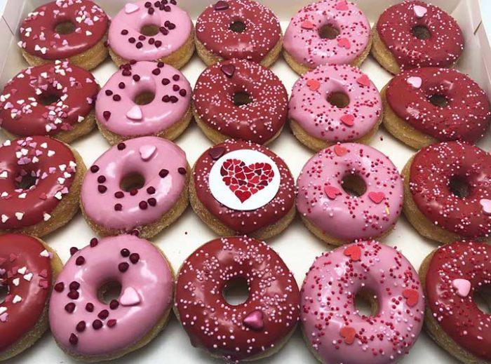 Valentijn Mini Donut box - JJ Donuts