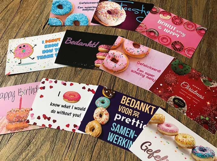 JJ Donuts - donut wenskaarten