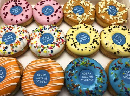 Nieuwe Woning Donut box - JJ Donuts