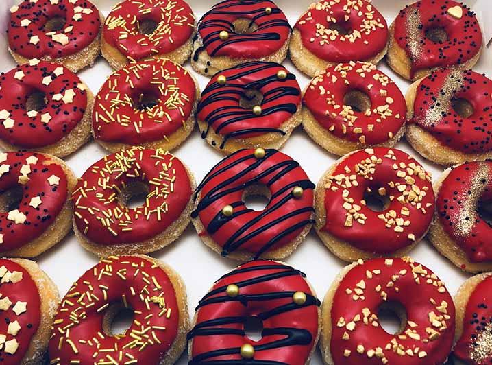 Première Mini Donut box - JJ Donuts