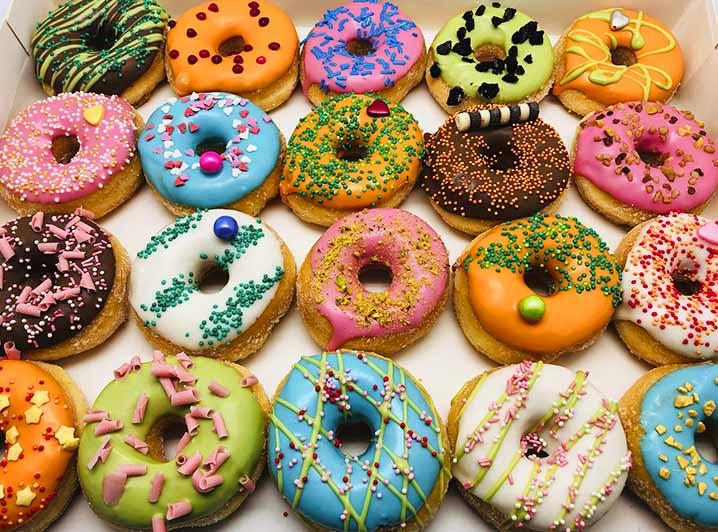 Fantasie Mini Donut box - JJ Donuts