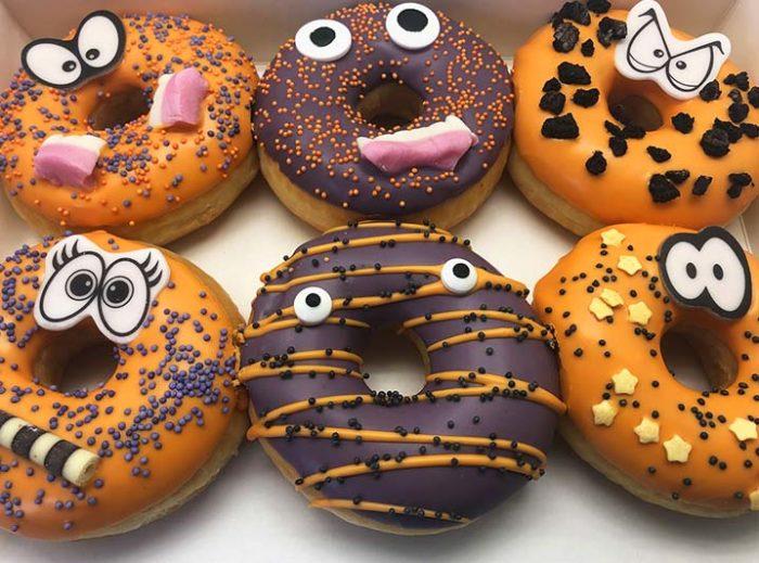Halloween Monsters Donut box - JJ Donuts